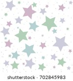 holiday card  star poster | Shutterstock .eps vector #702845983