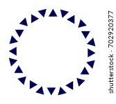 Triangle Circle Frame Ceramic ...