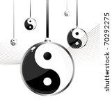 yin yang  taoistic symbol of... | Shutterstock . vector #70292275