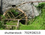 Ancient Working Water Mill
