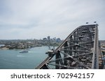 view over harbour cityscape and ...   Shutterstock . vector #702942157