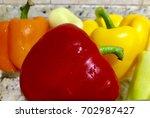 chile morron   Shutterstock . vector #702987427