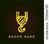 crane golden metallic logo