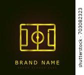 field golden metallic logo