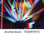led lights in pub | Shutterstock . vector #703095973