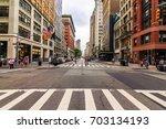 manhattan  ny  august 12  2017  ... | Shutterstock . vector #703134193
