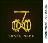 diabolo golden metallic logo
