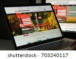milan  italy   august 10  2017  ... | Shutterstock . vector #703240117