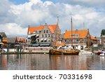 Touristic Town Of Volendam In...