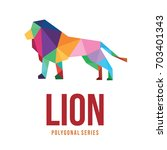wild animal logo icon symbol... | Shutterstock .eps vector #703401343