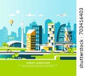 modern vector illustration of... | Shutterstock .eps vector #703416403