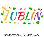 bright irish background with