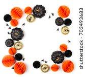 Shiny Decorative Pumpkins And...