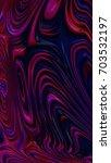 abstract textured swirl pattern.... | Shutterstock . vector #703532197