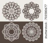 Mandala. Geometric Circular...