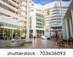 hague  den haag   netherlands....   Shutterstock . vector #703636093