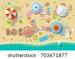 vector illustration. people on... | Shutterstock .eps vector #703671877