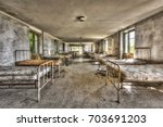 Dilapidated Dormitory In An...