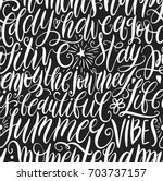have a good day  stay positive  ... | Shutterstock .eps vector #703737157