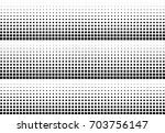 abstract halftone dotted... | Shutterstock .eps vector #703756147