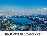 buildings of dhaka city ... | Shutterstock . vector #703780357