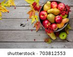 Autumn Harvest And Thanksgivin...