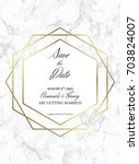 save the date design template.... | Shutterstock .eps vector #703824007