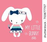 My Little Bunny Girl  Happy...