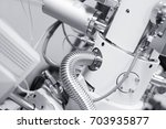 view of part of a chamber of a...   Shutterstock . vector #703935877