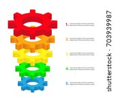 conversion funnel consisting of ...   Shutterstock .eps vector #703939987