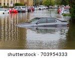 houston  texas   august 27 ... | Shutterstock . vector #703954333