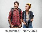 joy  happiness  travel ...   Shutterstock . vector #703970893