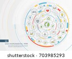 abstract save environmental... | Shutterstock .eps vector #703985293
