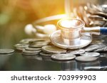 money saving  financial concept | Shutterstock . vector #703999903