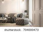 interior living studio  modern...   Shutterstock . vector #704000473