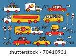cars   Shutterstock .eps vector #70410931