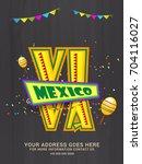 illustration poster or banner...   Shutterstock .eps vector #704116027
