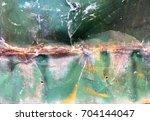 zinc texture surface and... | Shutterstock . vector #704144047