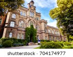 lund  a small old town in...   Shutterstock . vector #704174977