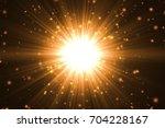 gold abstract bokeh background. ... | Shutterstock . vector #704228167