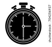 chronometer measure isolated... | Shutterstock .eps vector #704256937