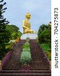 Stairs To Big Buddha Statue On...