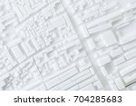 architecture model urban... | Shutterstock . vector #704285683
