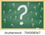 Chalkboard Question Mark Sketc...