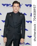 Small photo of Drake Bell at the 2017 MTV Video Music Awards held at the Forum in Inglewood, USA on August 27, 2017.