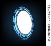 technology cyber abstract... | Shutterstock .eps vector #704317453