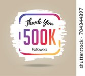 thank you design template for...   Shutterstock .eps vector #704344897