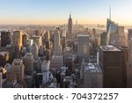 new york city. manhattan... | Shutterstock . vector #704372257