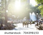 anonymous crowds of people with ... | Shutterstock . vector #704398153