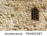 Weathered Stone Wall With...